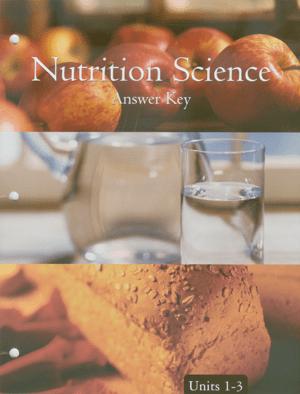 Nutrition Science Score Key 1-3