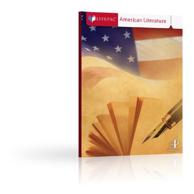 American Literature Unit 3 Worktext from Alpha Omega Publications