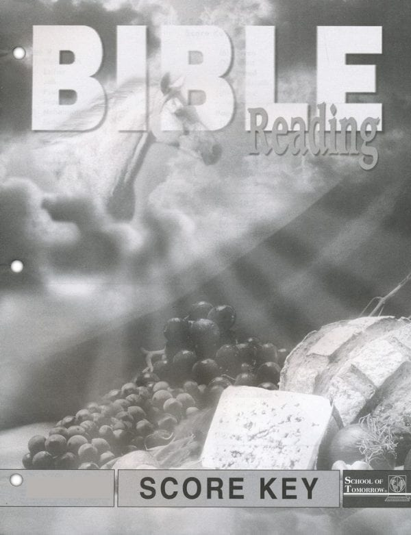 Bible Reading Answer Key 1025-1027