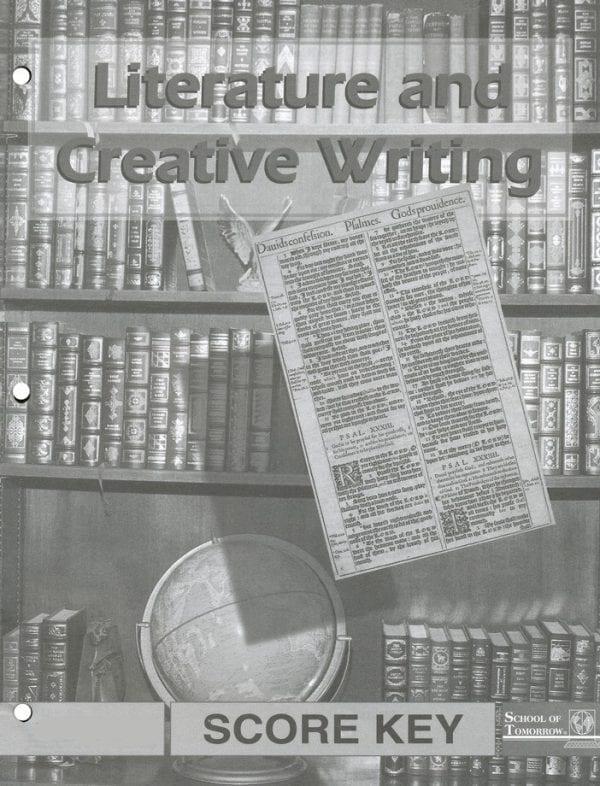 Literature and Creative Writing Answer Key 1028-1030