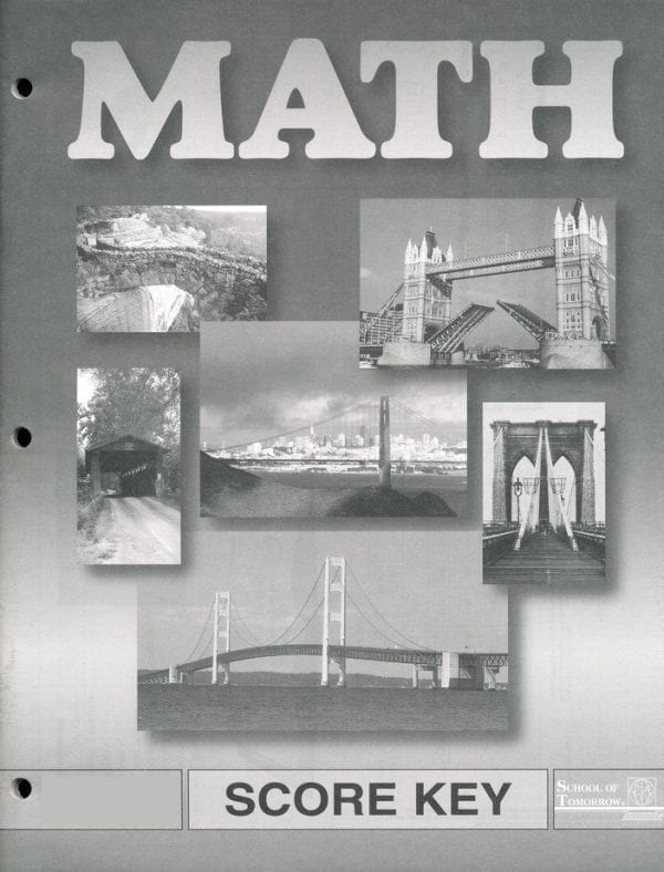 Math Answer Key 1067-1069