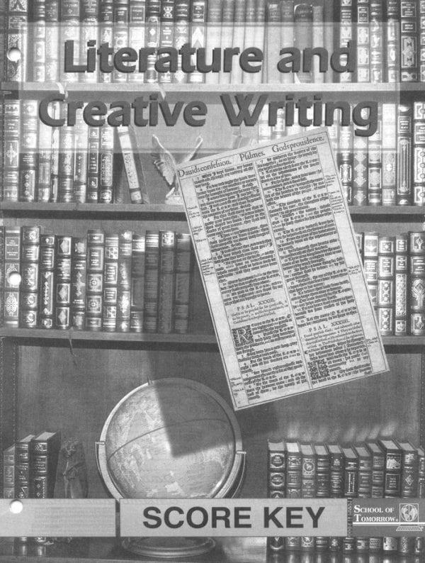 Literature and Creative Writing Answer Key 1052-1054