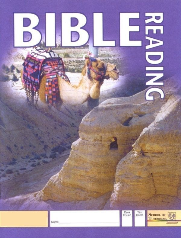 2nd Grade Bible Reading Pace 1021 by Accelerated Christian Education