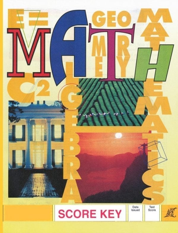 1st Grade Math Answer Key 1007 by Accelerated Christian Education