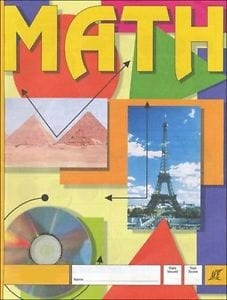 1st Grade Math Pace 1001 by Accelerated Christian Education