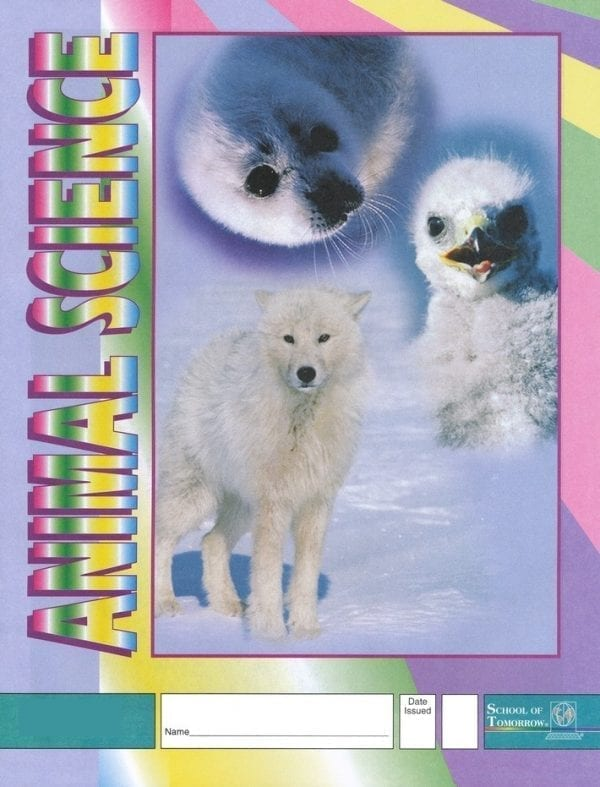 1st Grade Animal Science Pace 1009 by Accelerated Christian Education
