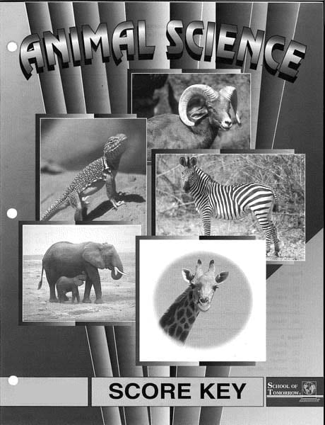 2nd Grade Animal Science Answer Key 1013-1015 by Accelerated Christian Education