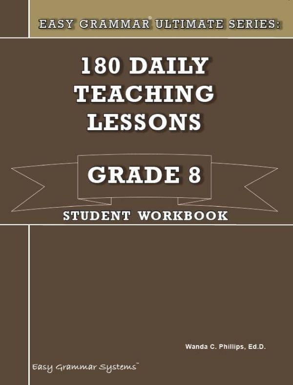 Grade 8 Student Workbook