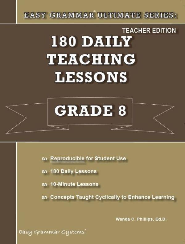 Grade 8 Teacher Edition