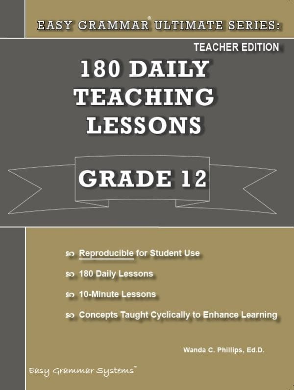 Grade 12 Teacher Edition