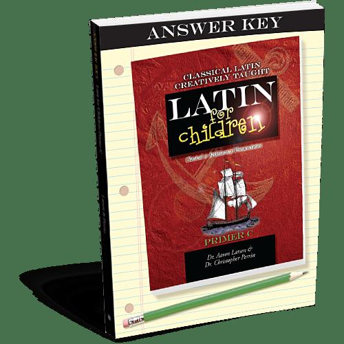Latin for Children C Answer Key