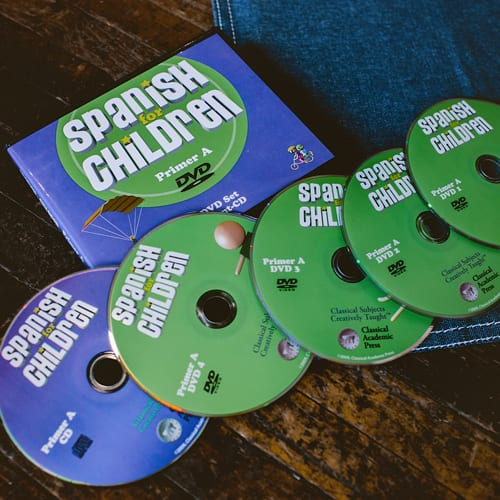Spanish Primer A DVD/CD Set